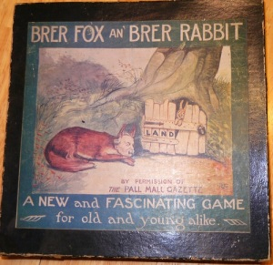 """Bre'r Fox and Bre'r Rabbit"" by the Newbie Game Co. in 1912."