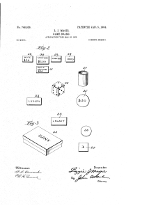 Page 2 of Elizabeth Magie's first patent for The Landlord's Game